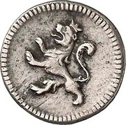 ¼ Real - Carlos IV (with mintmark) – reverse