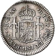 1 Real - Carlos IV (bust of Carlos III) – reverse