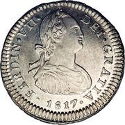 1 Real - Fernando VII (bust of Carlos IV) – obverse