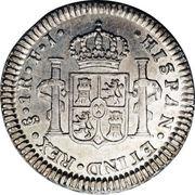 1 Real - Fernando VII (bust of Carlos IV) – reverse