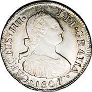 2 Reales - Carlos IV (bust of Carlos IV) – obverse