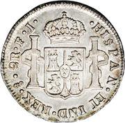 2 Reales - Carlos IV (bust of Carlos IV) – reverse