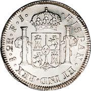 2 Reales - Fernando VII (bust of Fernando VII) – reverse