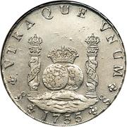 8 Reales - Fernando VI – reverse