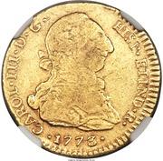 2 Escudos - Carlos III – obverse