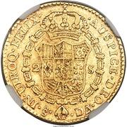 2 Escudos - Carlos III – reverse