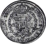 2 Escudos - Carlos IV (bust of Carlos III, CAROL IV) – reverse