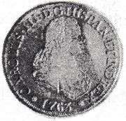 4 Escudos - Carlos III (bust of Fernando VI) – obverse