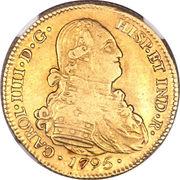 4 Escudos - Carlos IV (bust of Carlos IV) – obverse