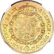 4 Escudos - Carolus IIII (bust of Carlos IV) – reverse