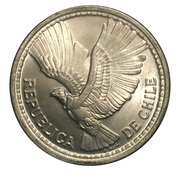 5 Pesos / ½ Condor – obverse