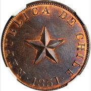 1 Centavo (raised star) – obverse