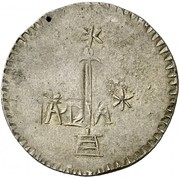 8 Reales (Countermarked coinage) – obverse