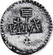 1 Real (Countermarked coinage) – obverse