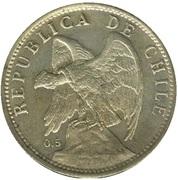 1 Peso (coin alignment) – obverse