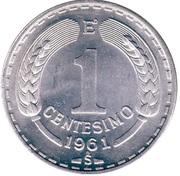 1 Centésimo – reverse