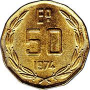 50 Escudos -  reverse