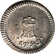 ¼ Real - Carlos IV (without mintmark) – obverse