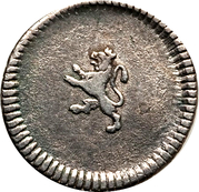 ¼ Real - Carlos IV (without mintmark) – reverse