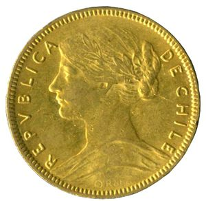20 Pesos Chile Numista