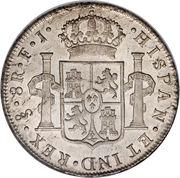 8 Reales - Carlos IV (bust of Carlos IV) – reverse