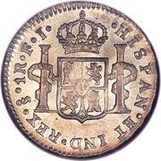 1 Real - Carlos IV (bust of Carlos IV) – reverse