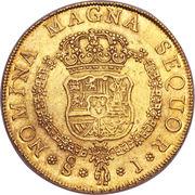 8 Escudos - Fernando VI (second bust of Fernando VI) – reverse