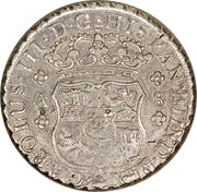 8 Reales - Carlos III (Colonial Milled Coinage) – obverse