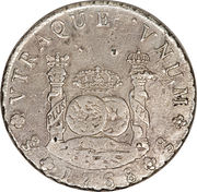 8 Reales - Carlos III (Colonial Milled Coinage) – reverse