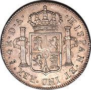 4 Reales - Carlos IV (bust of Carlos III, CAROLUS IV) – reverse