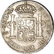 8 Reales - Carlos IV (bust of Carlos III) – reverse
