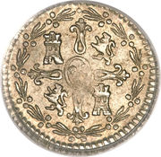 ¼ Real - Carlos IV (bust of Carlos III) – reverse