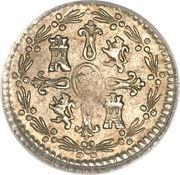 ¼ Real - Carlos IV (bust of Carlos III, CAROL IV) – reverse
