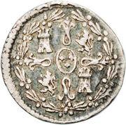 ¼ Real - Carlos IV (bust of Carlos IV) – reverse