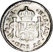 ½ Real - Carlos IV (bust of Carlos IV) – reverse