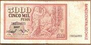 5000 Pesos – reverse
