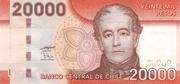20000 Pesos – obverse