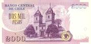 2000 pesos -  reverse