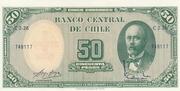 5 Centesimos (Overprint on 50 Pesos) -  obverse