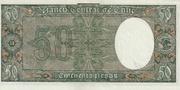50 Pesos (5 Condores) -  reverse