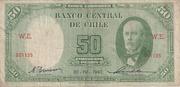 50 Pesos 5 Condores – obverse