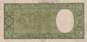 50 Pesos 5 Condores – reverse