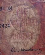 10 Centesimos (Overprint on 100 Pesos) -  obverse