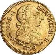 1 Escudo - Carlos III (bust of Carlos III, rat nose type) – obverse