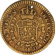 1 Escudo - Carlos IV (bust of Carlos III, CAROL IV) – reverse