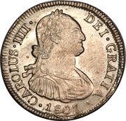 4 Reales - Carlos IV (bust of Carlos IV) – obverse