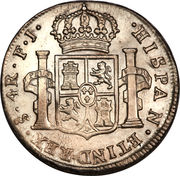 4 Reales - Carlos IV (Colonial Milled Coinage) – reverse