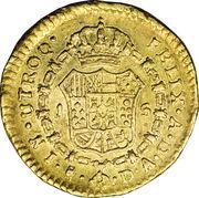 1 Escudo - Carlos IV (bust of Carlos IV) – reverse