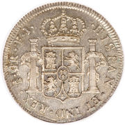 4 Reales - Fernando VII (Colonial Milled Coinage) – reverse