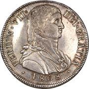8 Reales - Fernando VII (imaginary bust) – obverse